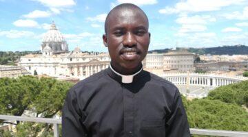 La vocazione di Samuel: il seminarista. Immagine sotto diritto d'autore.